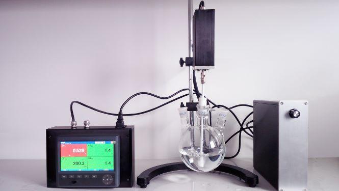 VM-500玻璃反应瓶在线黏度计